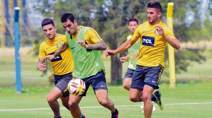 Siempre listo. Herrera ayer se entrenó sin problemas. Si suma minutos con Vélez pelearía por un lugar en la final.