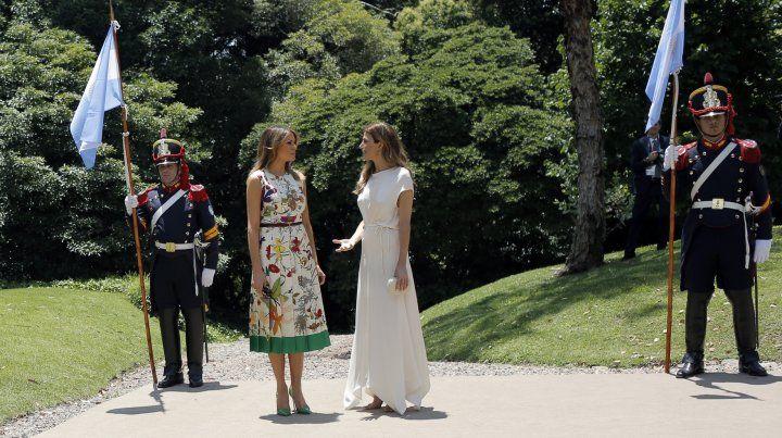 Awada almorzó con las acompañantes de los líderes del G20 en la Villa Ocampo