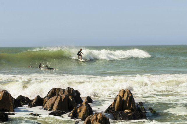 Las playas de La Pedrera son ideales para la práctica del surf.