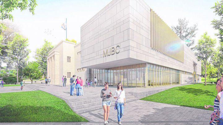 La imagen virtual de un cambio que significará conjugar el tradicional e histórico edificio con un complejo de última generación.