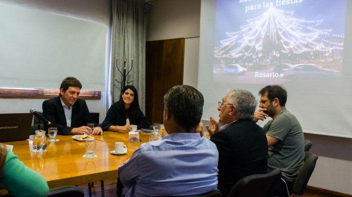 Las actividades son coordinadas por la Asociación Empresaria de Rosario y la Municipalidad.