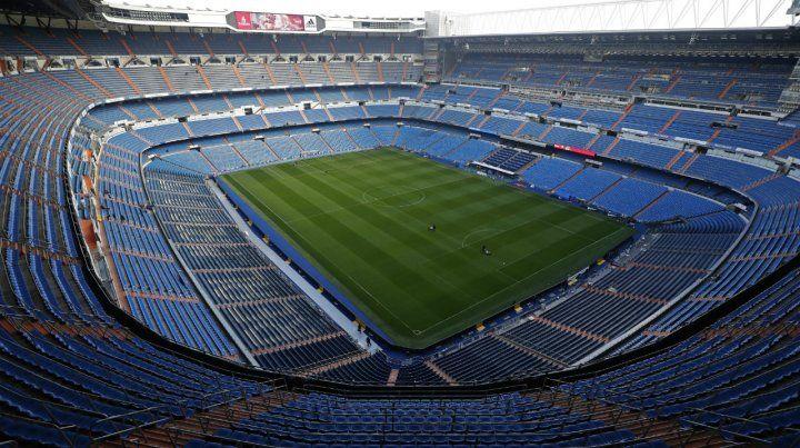El estadio Santiago Bernabéu será testigo de la final de la Copa Libertadores entre River y Boca.