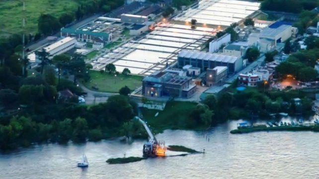 Los trabajos se realizarán en la planta potabilizadora de Arroyito.