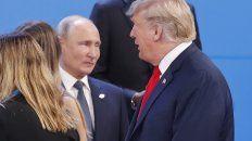 trump y putin hablaron brevemente durante la cumbre
