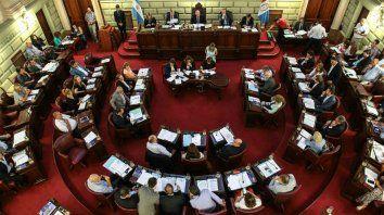 La Cámara de Diputados de Santa Fe.
