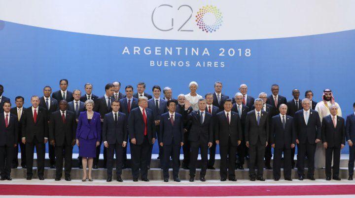 Los líderes mundiales estuvieron el Argentina para participar de la Cumbre del G20.