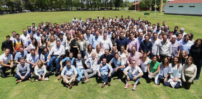 Todos juntos. Dirigentes del macrismo confluyeron en Rosario.