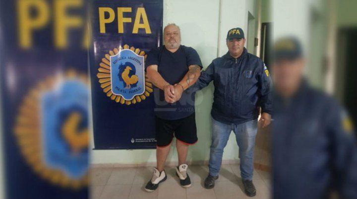 De vuelta preso. Mendoza se había ido de Coronda en septiembre de 2017.