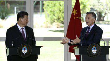 macri firmo acuerdos comerciales con china