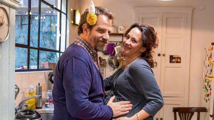 Mamá en problemas. Roxi (Otero) y su marido