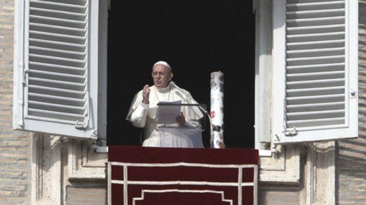 Francisco inició el Adviento con pedido de paz en Siria