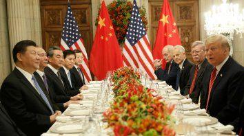 Logros gracias a la puja China-EEUU