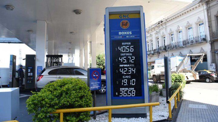 YPF bajó la nafta 1 por ciento pero subió 3 por ciento el gasoil
