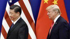 El presidente de China Xi Jinping y su par norteamericano Donald Trump.