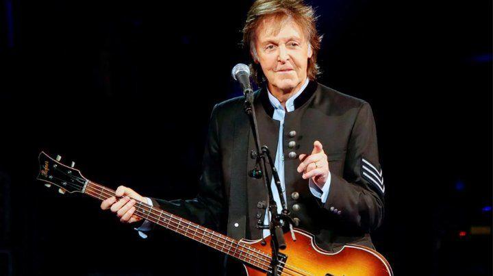 Paul McCartney anunció que en marzo vuelve a cantar a Argentina