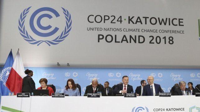 La cumbre del clima se desarrolla en la histórica ciudad polaca de Katowice