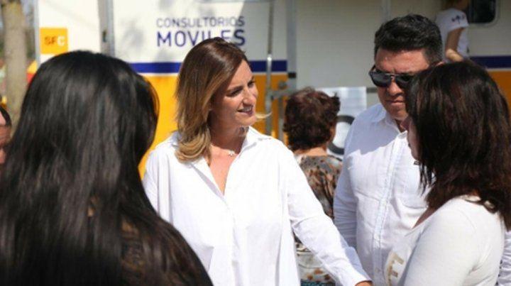 En territorio. La diputada Cesira Arcando impulsó la iniciativa.