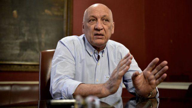 El presidente de la Cámara de Diputados quiere volver al sillón del Brigadier López.