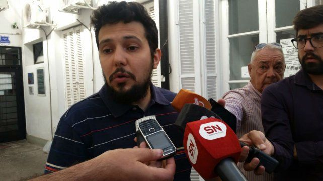 Luciano Cáceres, de la comisión directiva de Amsafé Rosario.