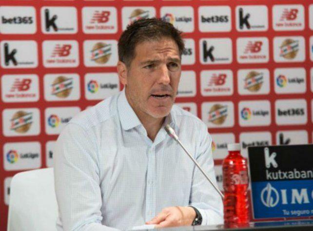 Eduardo Berizzo fue despedido de Athletic Bilbao.