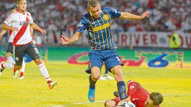 En 2016. Ruben pelea la pelota con Batalla