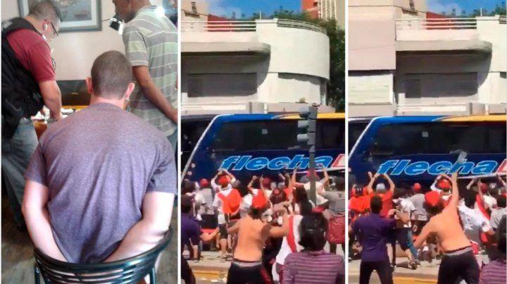 Detuvieron a uno de los agresores del colectivo de Boca