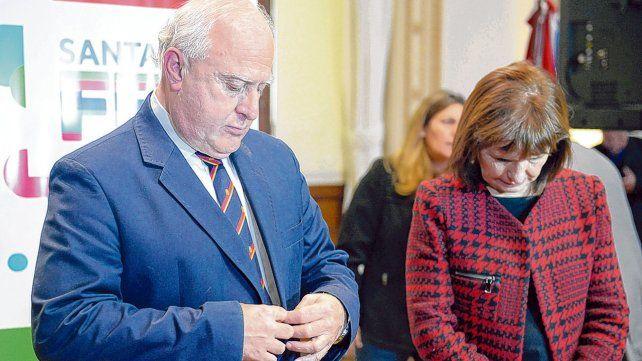 El gobernador no vio con buenos ojos la resolución que adoptó la ministra de Bullrich