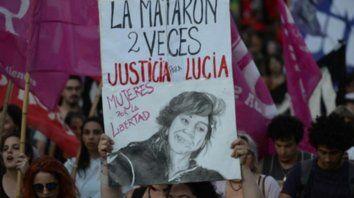 todas juntas. Una de las movilizaciones efectuadas en reclamo de Justicia por la muerte de la joven.