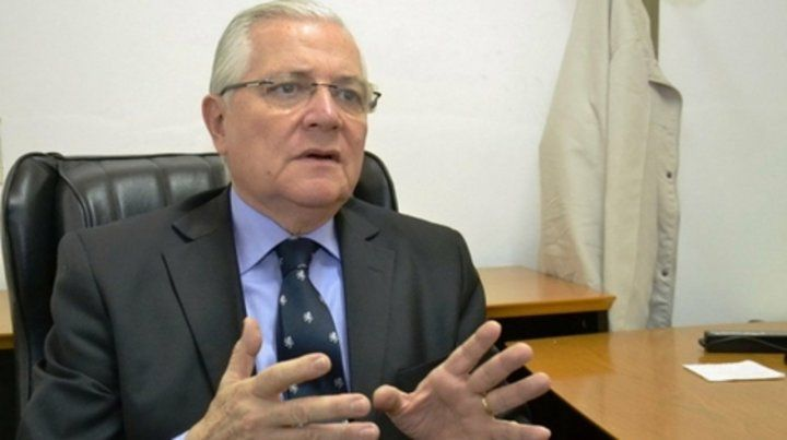 A indagatoria. El sospechado magistrado federal Carlos Soto Dávila.