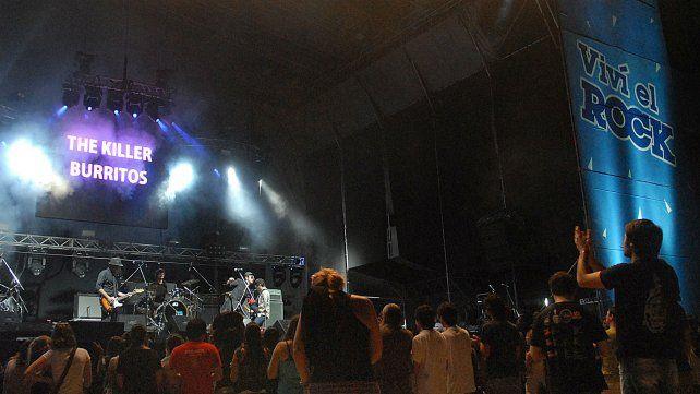 La edición de Quilmes Rock de 2010 en el Hipódromo.