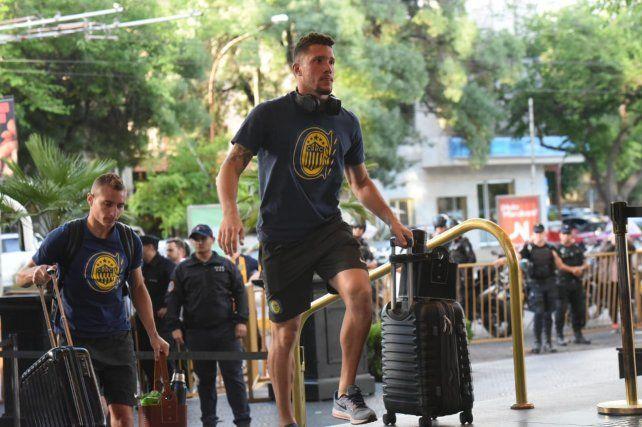 Central llegó a Mendoza para jugar la final