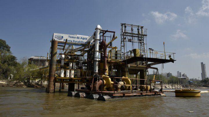 La empresa Aguas Santafesinas ya formalizó un pedido de aumento para el año próximo.