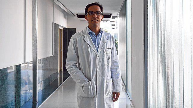 Beneficios. El médico oncólogo Gastón Boggio asegura que los resultados son muy alentadores.