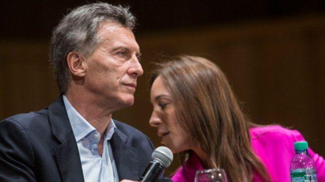 diferencias. La gobernadora de Buenos Aires se plantó frente a la propuesta de la Casa Rosada.