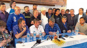 plenario. Organizado por la CGT San Lorenzo, el encuentro expresó el rechazo a las políticas del gobierno macrista.