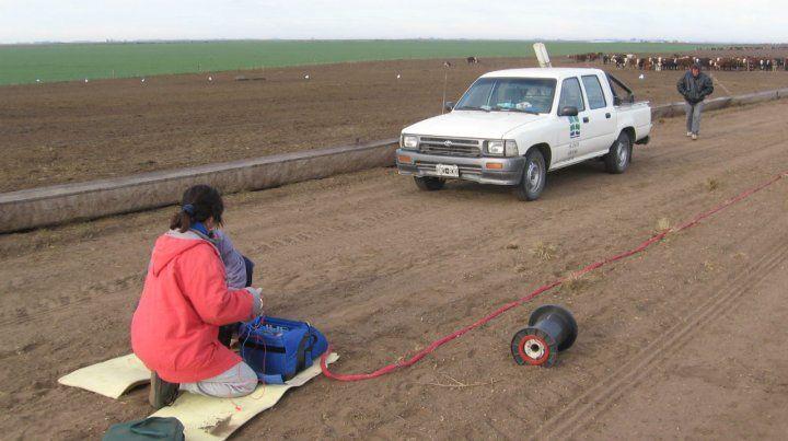 Los investigadores utilizaron la técnica de inducción electromagnética para evaluar la contaminación.