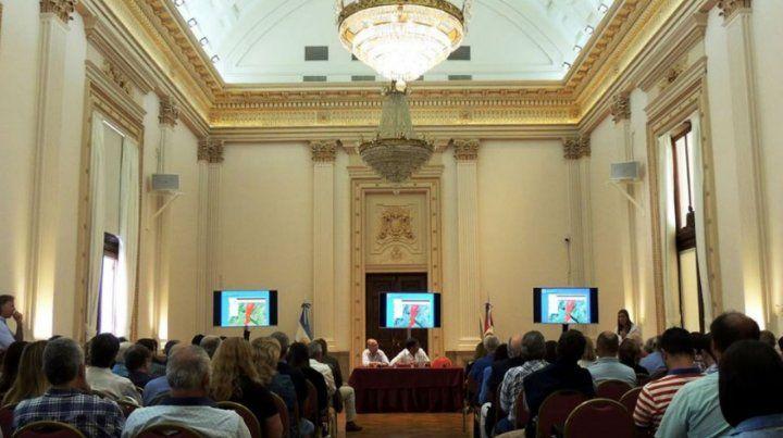 Jornada. La presentación oficial del Observatorio de Suelos se realizó en el marco de la 1ª Jornada Santafesina de Suelos.