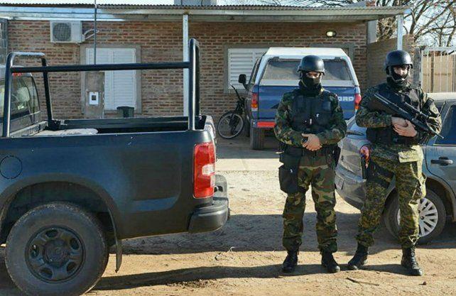 Detenciones. Los operativos fueron en 2014 en Venado Tuerto
