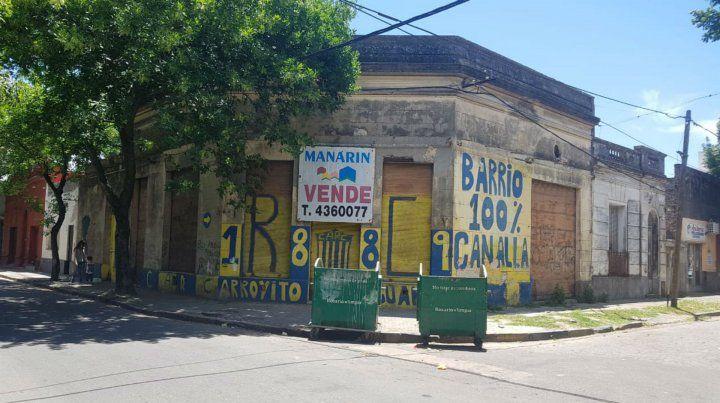 La esquina de Juan J. Paso y Ascasubi