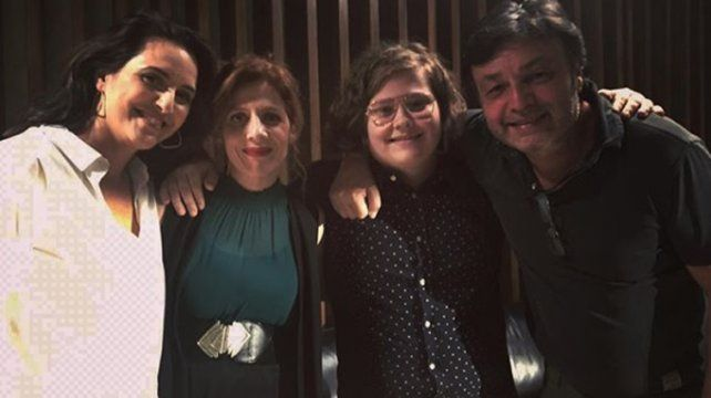 El hijo de Nancy Dupláa y Matías Martin debuta en cine