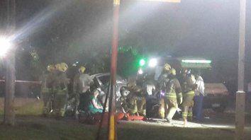 Un motociclista falleció tras chocar contra un auto en Pérez