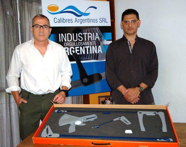 Pyme. José Arcodia y Fabián Castelain