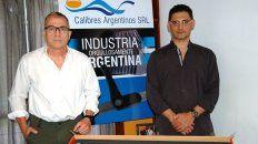 Pyme. José Arcodia y Fabián Castelain, los mentores de Calibres Argentinos.