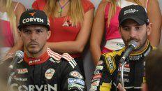 Matías Rossi, poleman, y Facundo Ardusso, escolta, intentarán quedarse con el título del TC en San Nicolás.