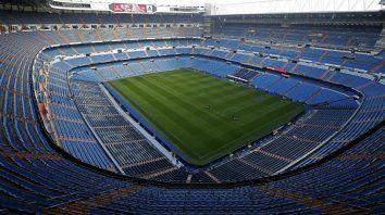 Hay cancha. El mítico Santiago Bernabéu, la casa del Real Madrid, será escenario de la final sudamericana.