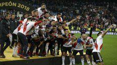 River le ganó a Boca por 3 a 1 levantó la Copa Libertadores