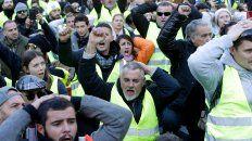 Bronca. Los manifestantes del sábado en Marsella.