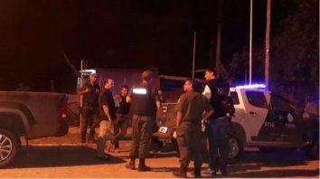 Intensa Búsqueda. En la noche del sábado se realizaron operativos para aprehender al prófugo.