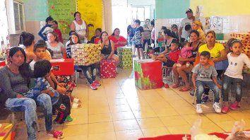 Beneficiarios. Las organizadoras esperan que unas 3.000 familias puedan recibir su Caja Navideña para estas Fiestas.