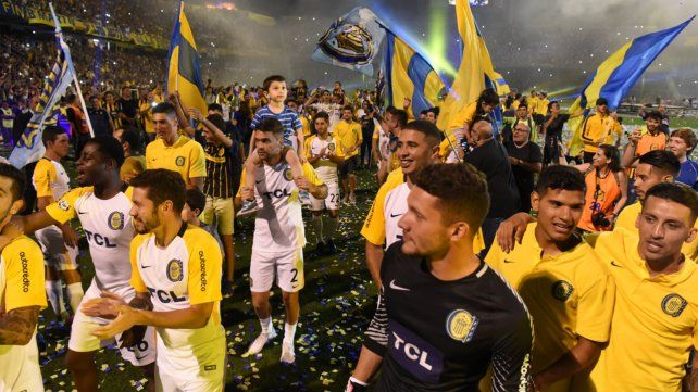 Las mejores fotos de la gran fiesta de Central campeón